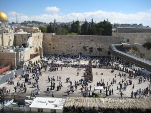 The Western Wall, Israel